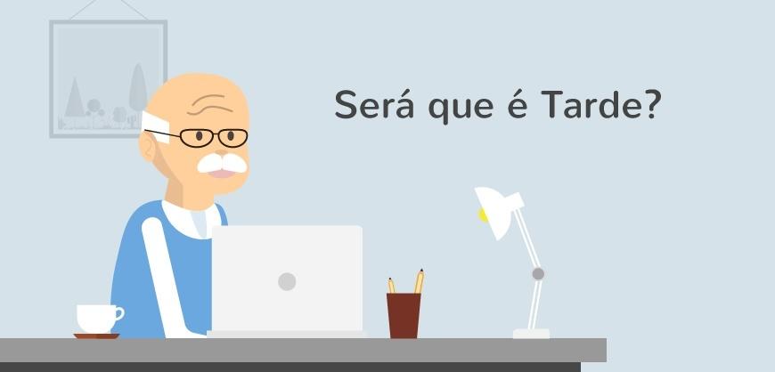 Trabalhar Online: Será que é Tarde?
