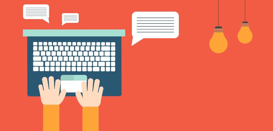 Promover um negócio online: Blog